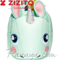 Zizito Детска раничка с предпазен колан Unicorn Green ONL30002421