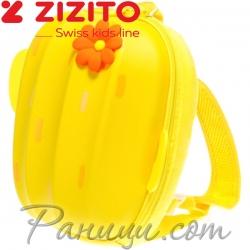 Zizito Детска раничка с предпазен колан Cactus Yellow ONL30002417