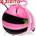 Zizito Мини раничка с предпазен колан Bee Pink ONL30002414