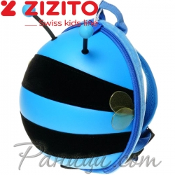 Zizito Мини раничка с предпазен колан Bee Blue ONL30002415